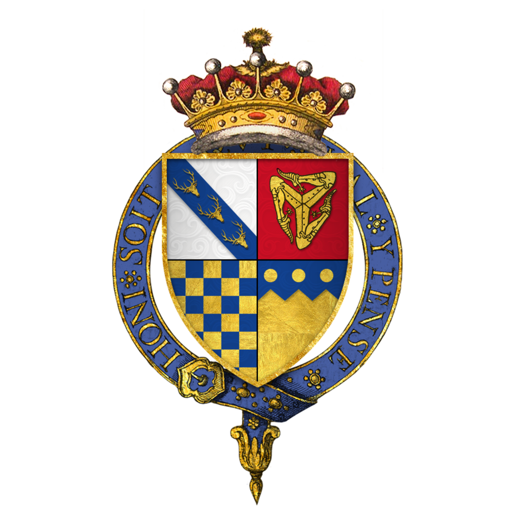 Quartered_arms_of_Sir_Thomas_Stanley,_1st_Earl_of_Derby,_KG