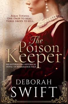 Deborah Swift, The Poison Keeper Cover