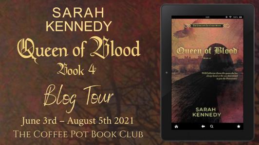 Queen of Blood Blog Tour Banner